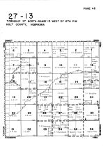 Township 27 North - Range 13 West, Holt County 1948